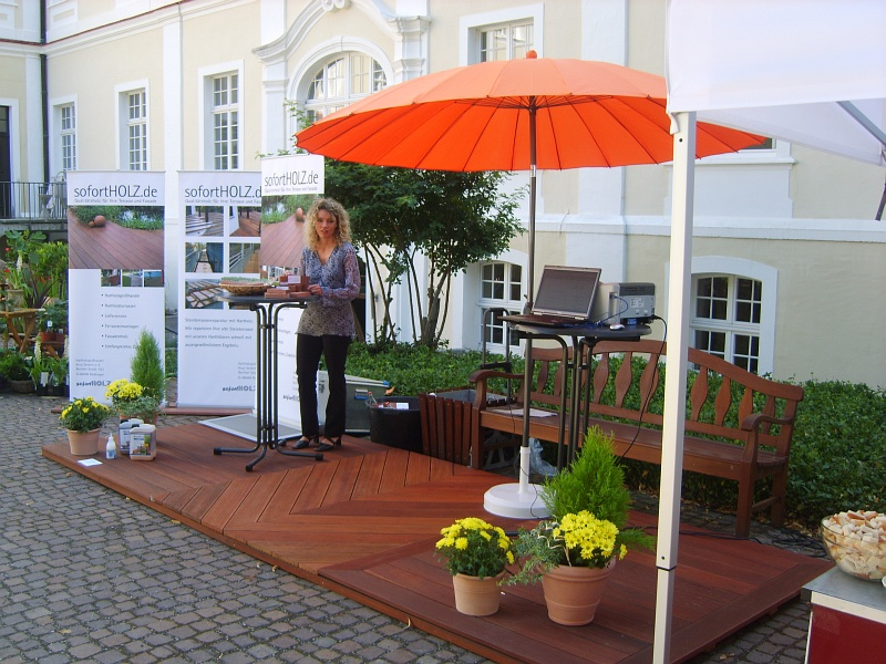 Messestand in Bad Schussenried